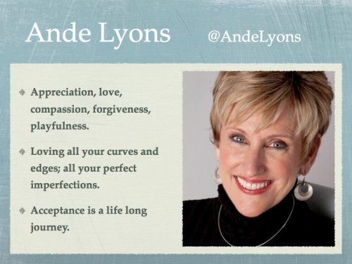 Ande Lyon's Acceptance Quotes