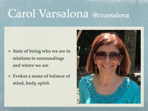 Carol Varsalona Quotes