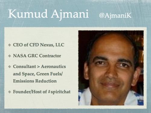 Twitter Bio of Kumud Ajmani