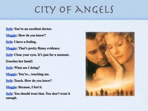 Scene from City of Angels